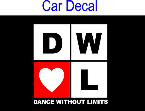 Dance Without Limits CAR DECAL