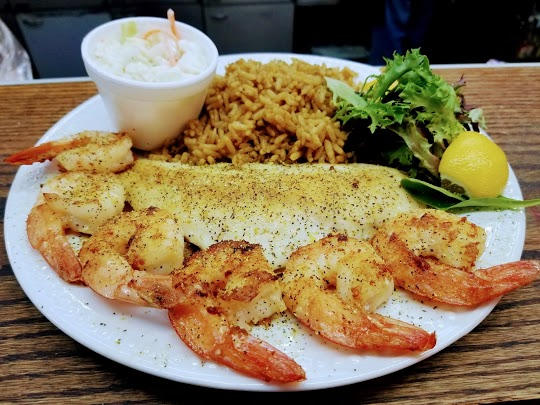 Shrimp & Choice of 1 Fish