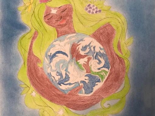 Сохраним нашу Землю голубой и зелёной!