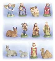 Nativity Set of 12 figures