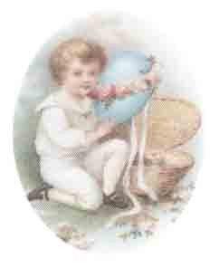 Boy with Blue egg