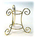 Egg Display Stand, Brass Finish