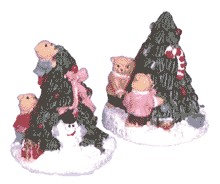 Teddy Christmas Trees