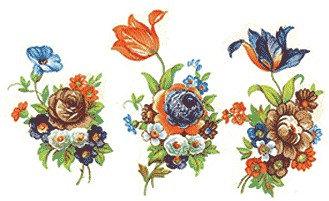 Flower Decals 282-120
