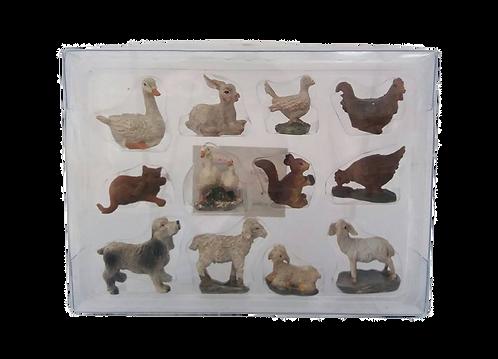 Set of 12 Animals