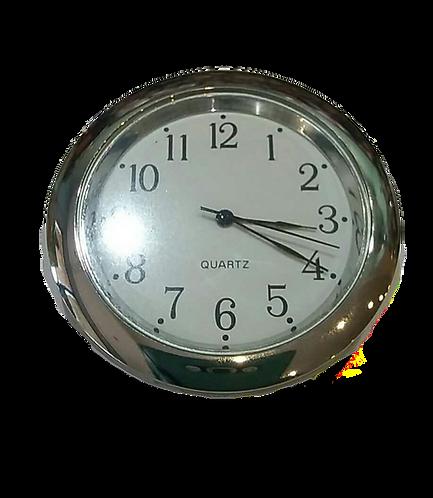 45mm Silver Finish Clock Insert