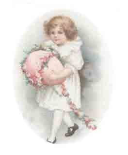 Girl with Pink egg
