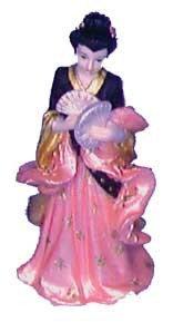 Oriental Lady (Deep Pink)