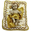 Thumbnail: Baby Jesus on a cushion 12 X 10cm