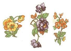 Flower Decals 282-125