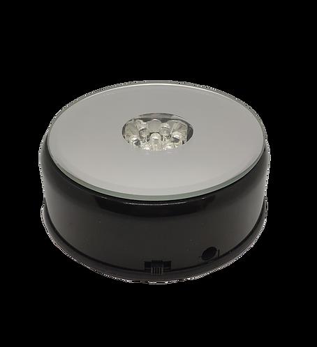 LED light base Rotating coloured 9.6cm