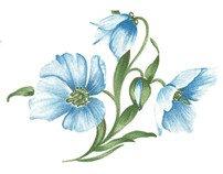 Flower Decals 282-062