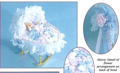 Lace Rocking Cradle