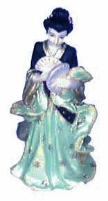 Oriental Lady (Green)
