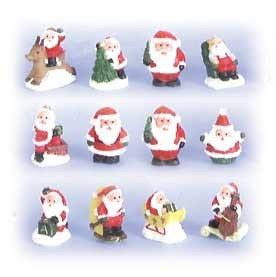 Tiny Santa's box of 12