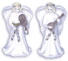 Set of 2 Christmas Angels 131-544