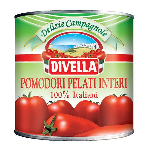 Lata Tomate pelati Divella x 2500 grs