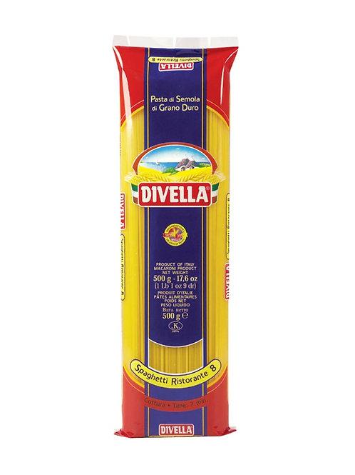 Spaghetti Ristorante Divella x 500grs.