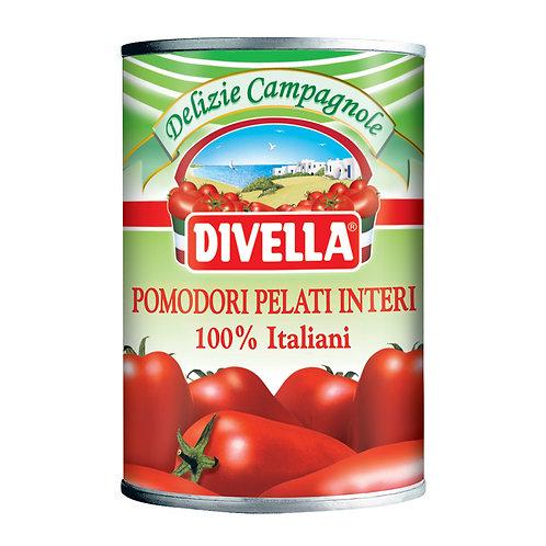 Lata Tomate pelati Divella x 400 grs