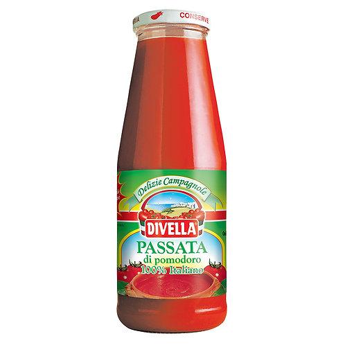 Passata de tomate Divella 680 grs.
