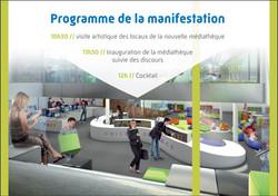 Invitation inauguration 2
