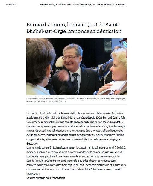 Bernard Zunino et Grand Bois