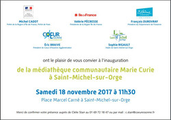 Invitation inauguration 1