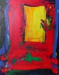 Acrylique sur toile Mars 2006  24 X 30 pouces 750$  61 x 76cm 500€