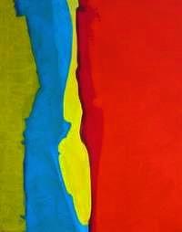 Acrylique sur toile Février 2007  24 X 30 pouces 750$  61 x 76cm 500€