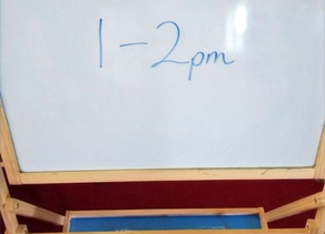 Rest Hour  - a must for parents!