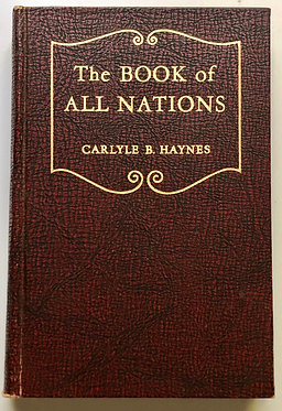 A Book of All Nations by Carlyle B. Haynes
