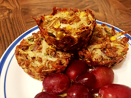 Sausage Hash Brown Muffins
