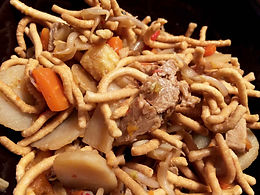 Vegetarian Chicken Chow Mein