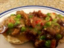 Meatless Chicken a la King