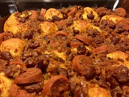 Chili Big Franks Bake