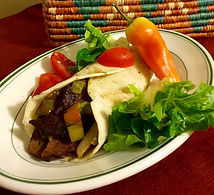 Vege-Steak Fajitas