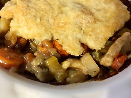 Skallop Vegetarian Pot Pie