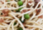 Pasta with Sausage and Peas