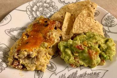 Vegetarian Chicken Enchiladas