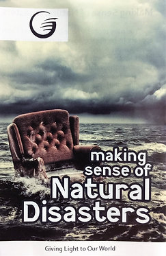 Making Sense of Natural Disasters