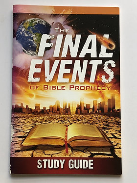 The Final Events of Bible Prophecy Study Guide and DVD