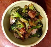 Asian-Style Broccoli Chik'n