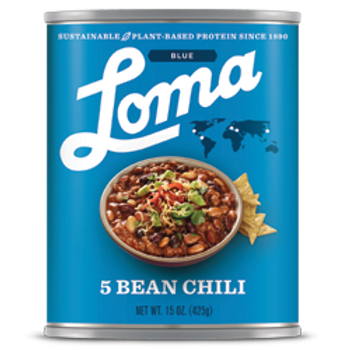 5 Bean Chili 15 oz 12/case Vegan/Non-GMO/Gluten-Free