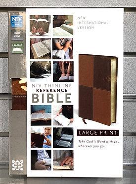 NIV Thinline Reference Bible Large Print