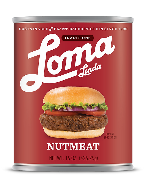 Nutmeat 15 oz 6/case Vegan/Non-GMO