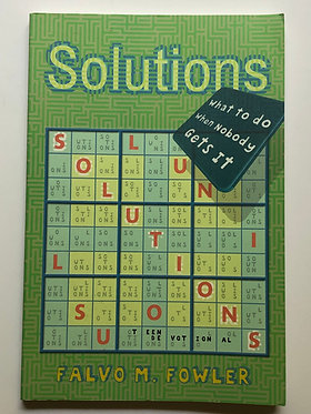 Solutions by Falvo M. Fowler