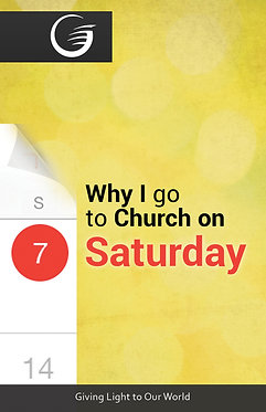 Why I Go To Church On Saturday
