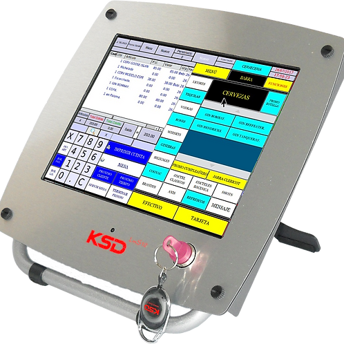 Sistema para Cafetería y Bares Touch Screen KSD software base incluido
