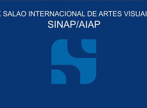 Inscrições abertas: X Salão Nacional e Internacional de Artes Visuais SINAP/AIAP