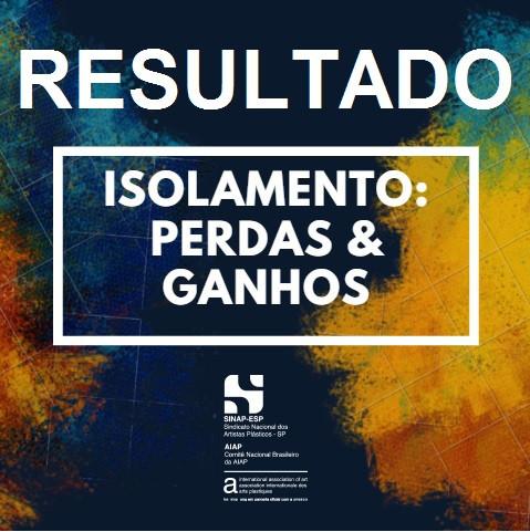 Resultado exposição Isolamento:Perdas&Ganhos